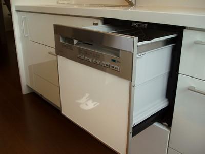 大田原市K様邸ビルトイン食器洗い乾燥機の画像1